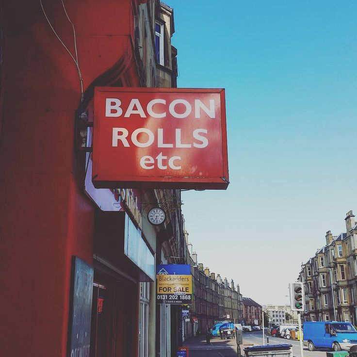 Exactly what I want from a convience store  #leith #easterroad #edinburgh #baconrollsetc