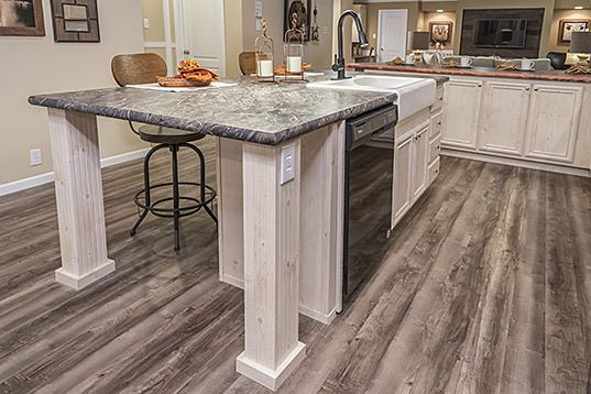 Tennessee Manufactured Home Floor Plans Ridgecrest Multi Section Kitchen