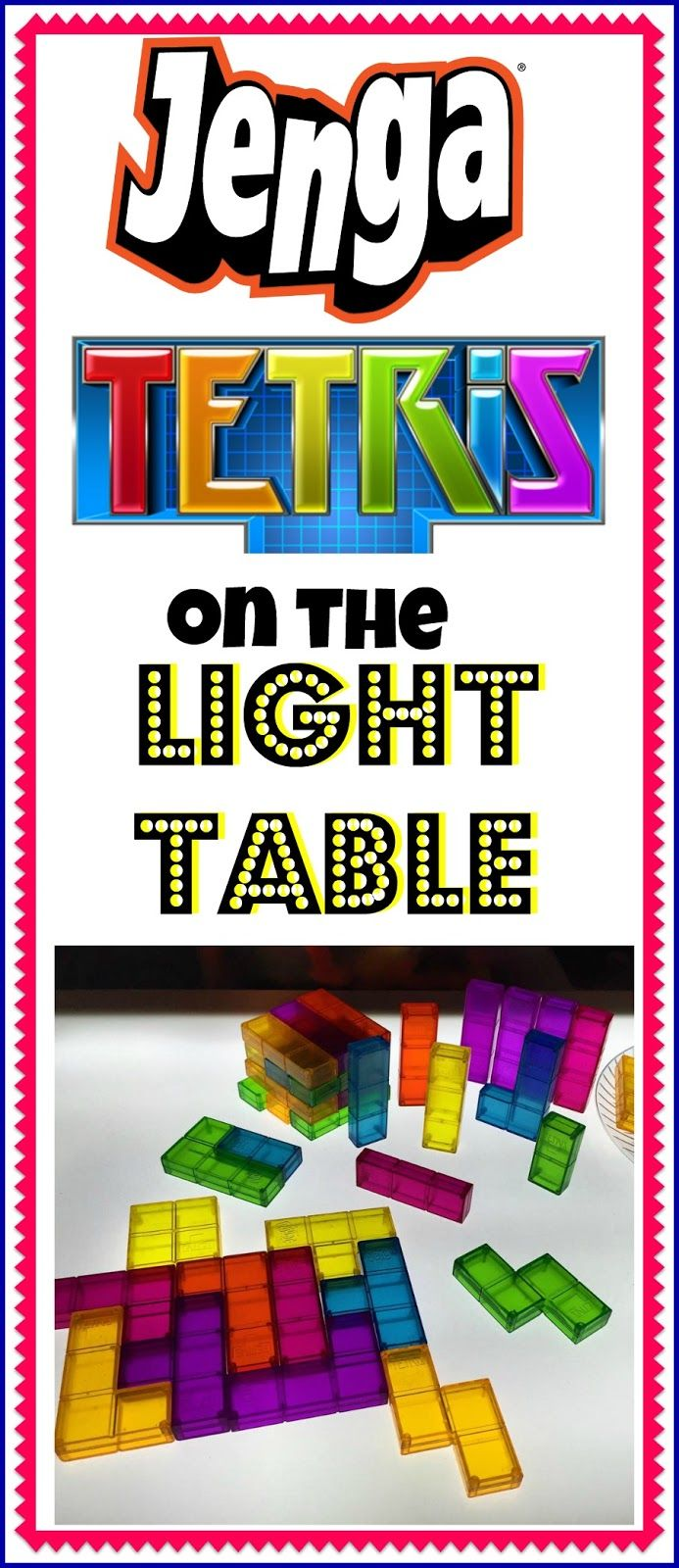 Jenga Tetris on the Light Table | Epic Childhood