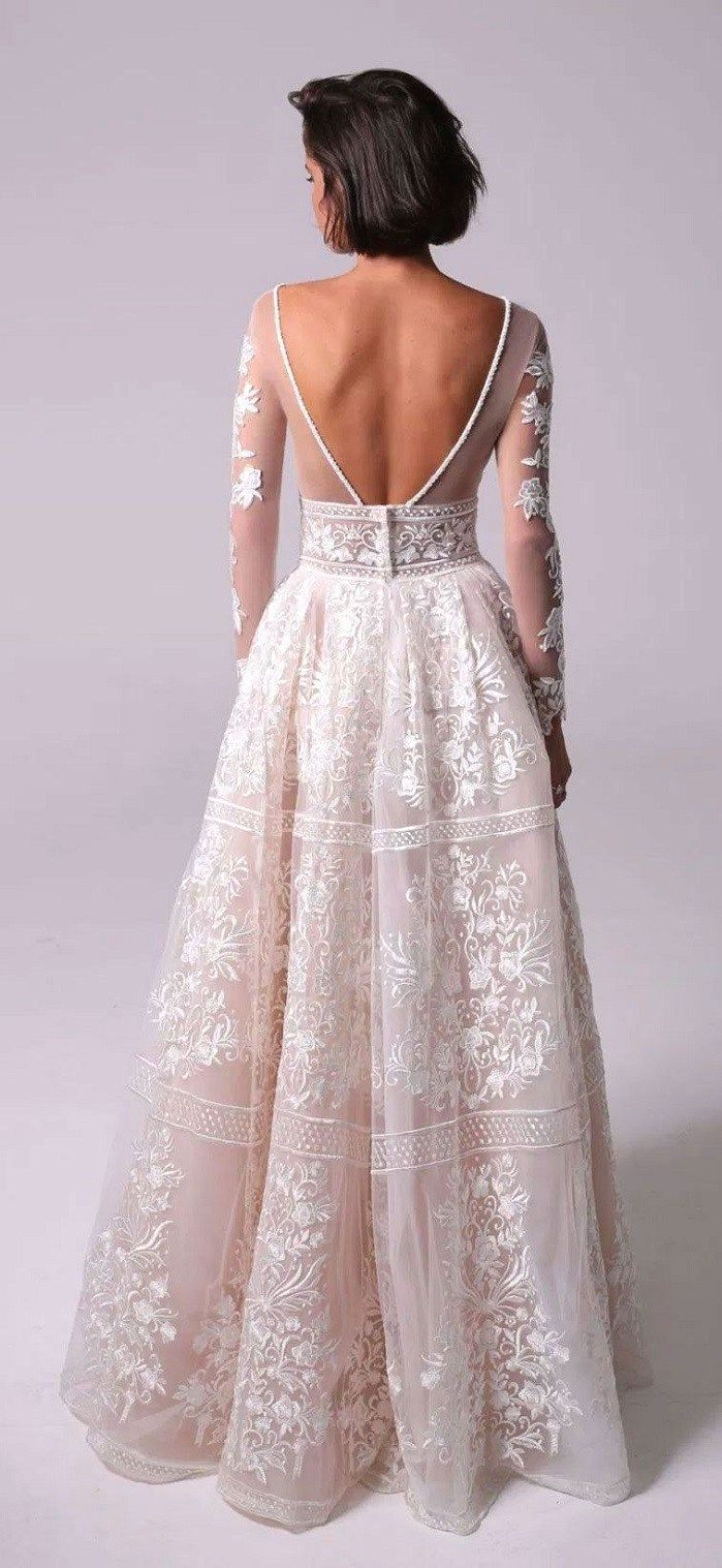 4abfa4e8ffd White wedding dress. Brides want to find themselves finding the perfect  wedding day