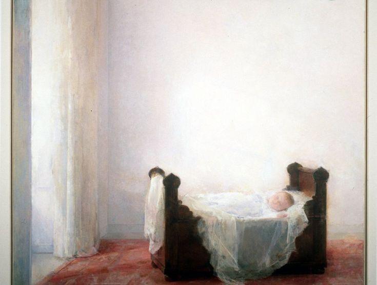 Carmen Laffón, Inés Laffon en la cuna (1995). Retrato de una artista inclasificable | Andalucía | EL PAÍS