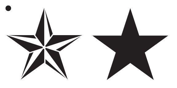 25+ Unique Star Stencil Ideas On Pinterest