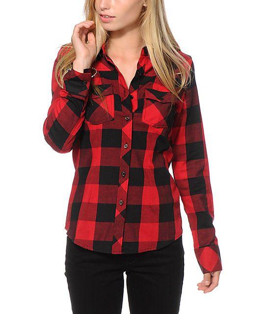 17 Best ideas about Plaid Shirt Women on Pinterest | Polyvore ...