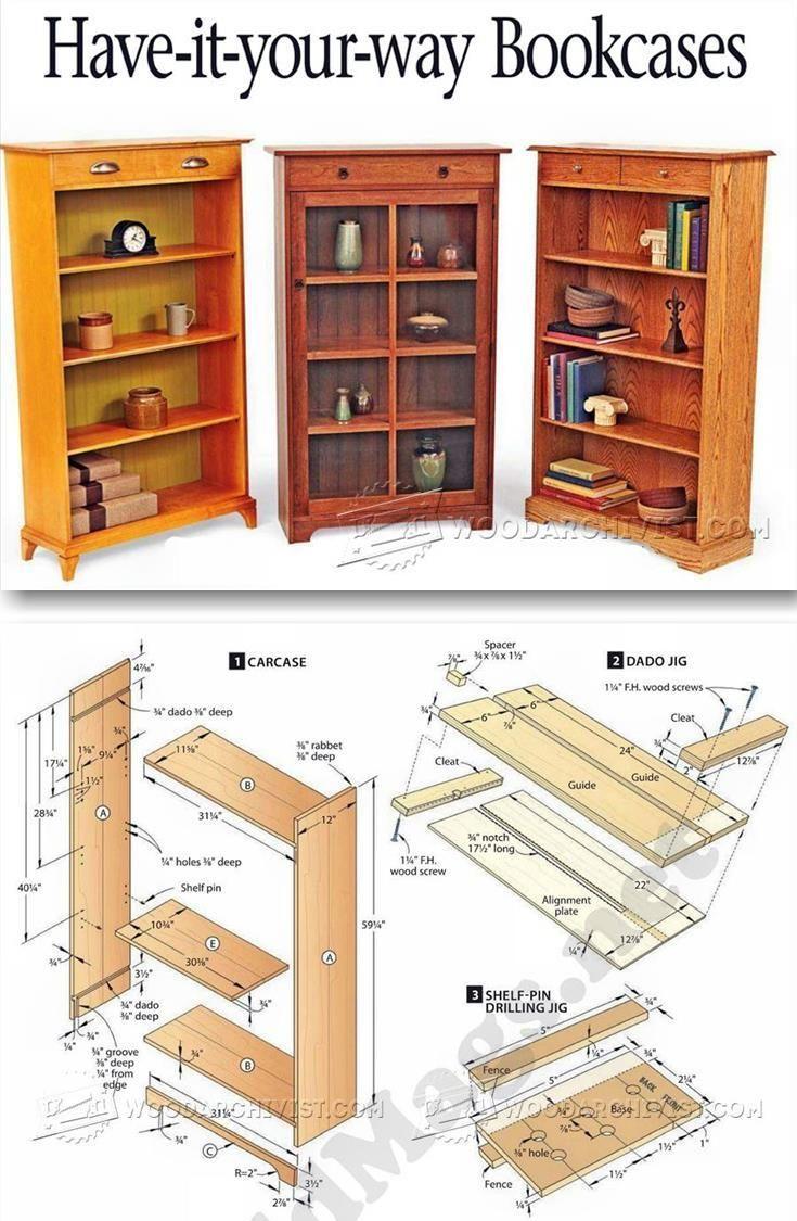 Best 25 Bookcase Plans Ideas On Pinterest Build A Bookshelf And Diy Design