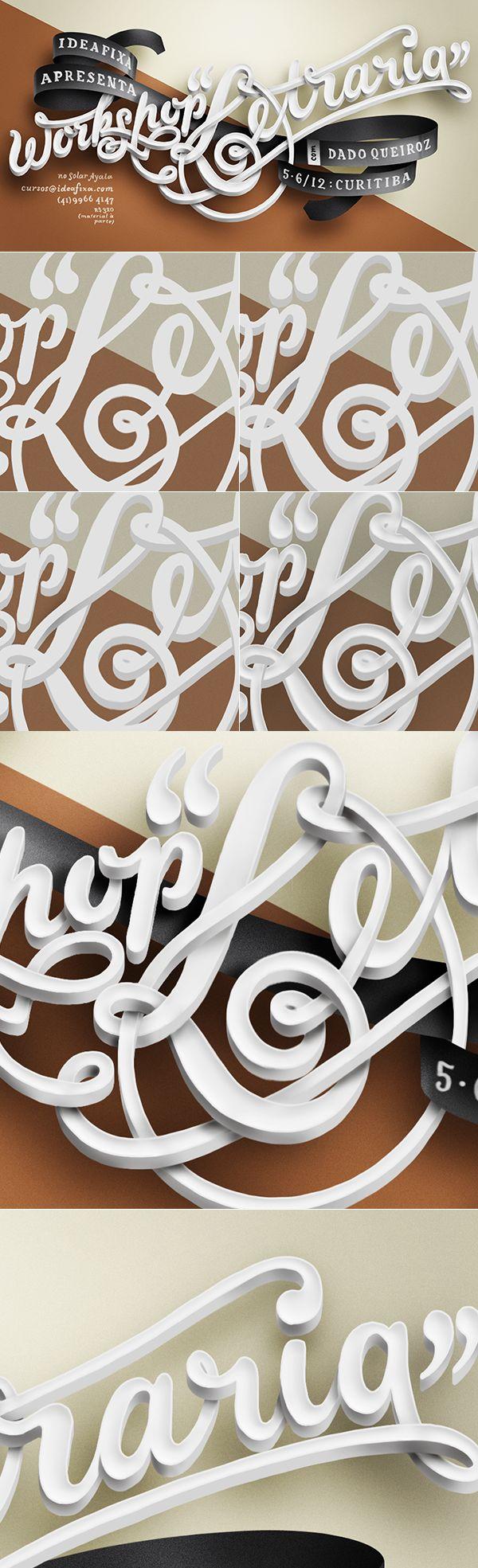 Questo lavoro grafico riesce a rendere  un senso di eleganza per l'abbinamento dei colori scelti. Il carattere in rilievo rende più articolato l'effetto dato dalla scrittura in corsivo prevalentemente formata da una sola linea continua.