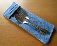 a cutlery pouch for my lunch