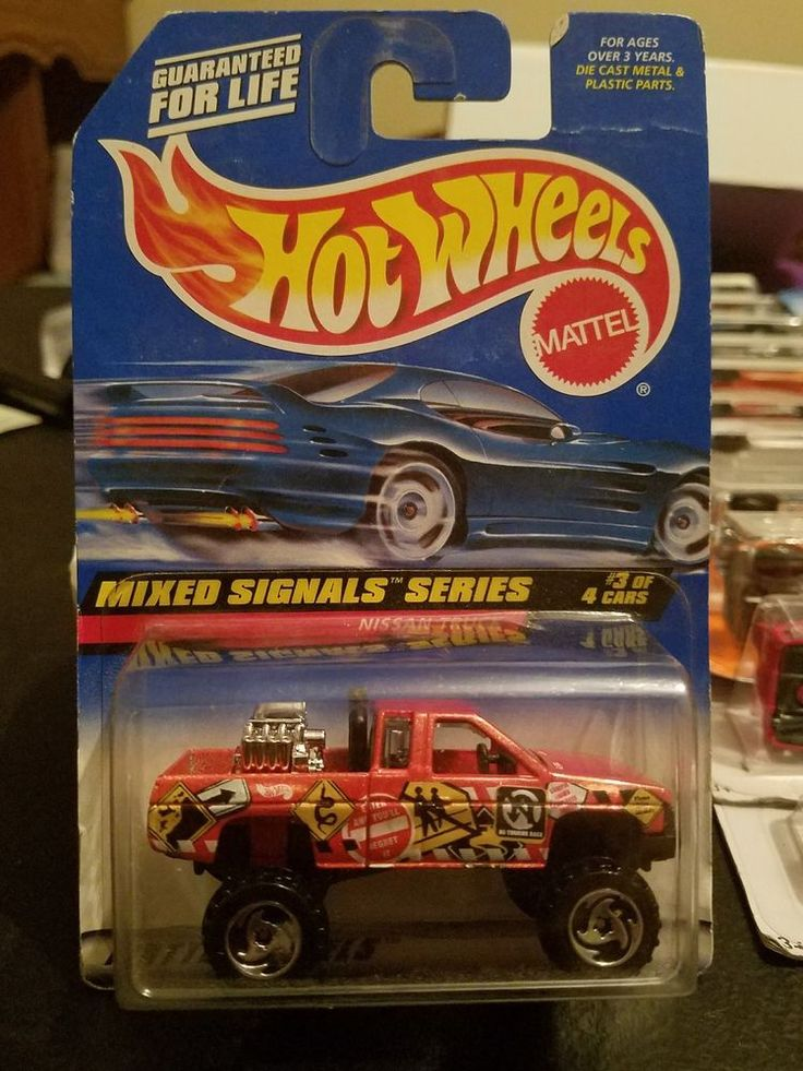 Hot Wheels mixed signals series Nissan hardbody truck