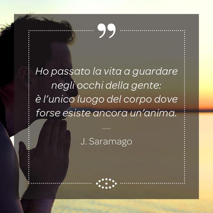 José de Sousa Saramago è stato uno scrittore, giornalista, drammaturgo, poeta e critico letterario portoghese. Inoltre, nel 1998, ha vinto il premio Nobel per la letteratura. #frasi #aforisma #salmoiraghieviganò #salmoiraghi #occhi #eyes #aforismi #vista #saramago #nobel