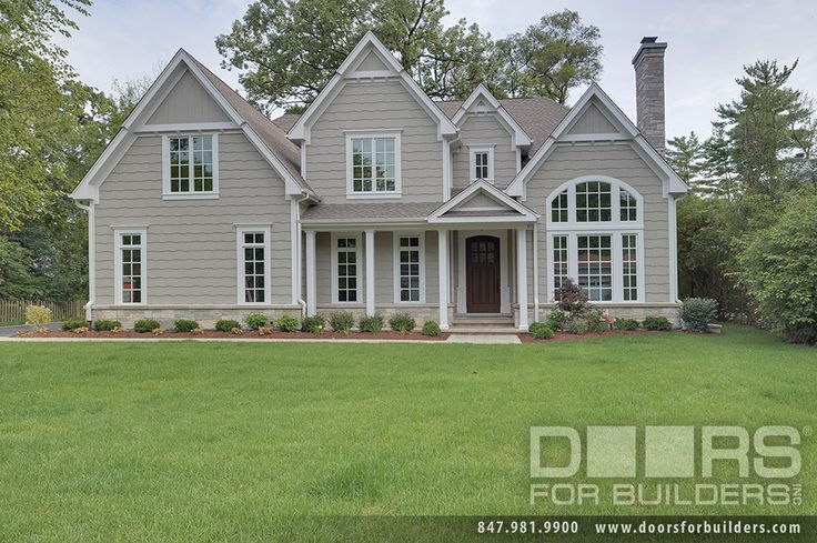 Custom Windows Project - Colonial Style Grids on Housefront - Windsor Windows & Doors