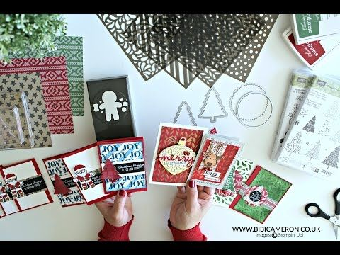 7 ways to use Seasonal Decorative Masks or Stencils Stampin' Up! - YouTube