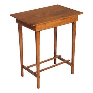 Side table in solid fir late nineteenth century