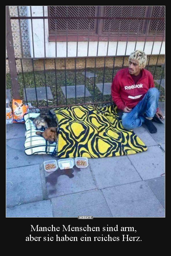 Manche Menschen sind arm, aber sie haben ein reiches.. | Lustige Bilder, Sprüche, Witze, echt lustig