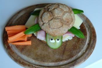 Brötchen-Schildkröte
