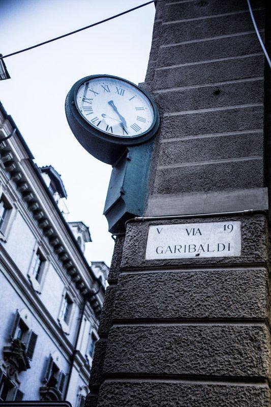 Orologio Comunale via Garibaldi #Torino
