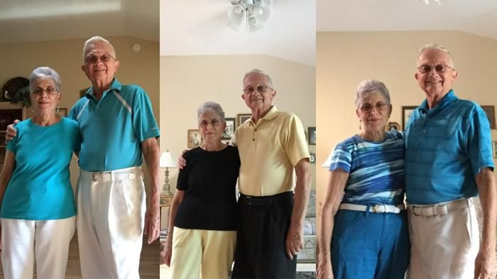 Meski Sudah Kakek Nenek, Tapi Alay, Kompak, dan Matching Tetap Jalan, dong!