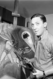 Bob Kane ~ creator of the Batman. Thank you so much Bob Kane my life would be incomplete without Batman!