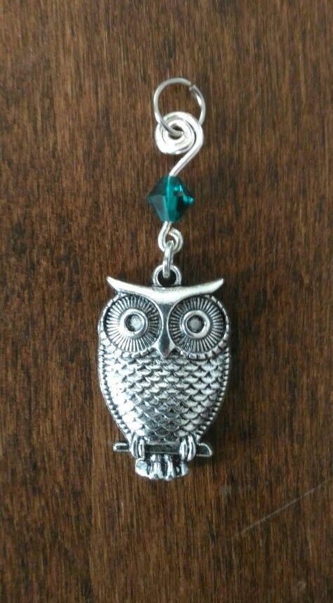 Ciondolo/orecchini con Gufo #orecchini #bigiotteria #jewelry #gufo #gufi #green #verde #owls #handmade #ciondoli