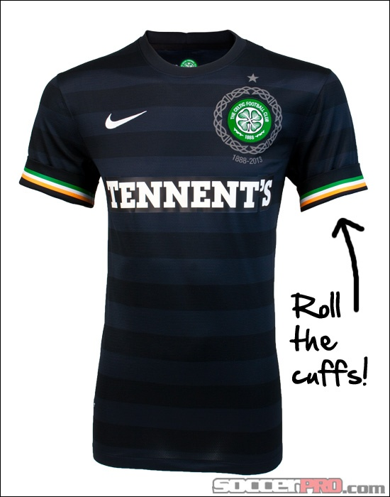 Celtic strip nike blonde