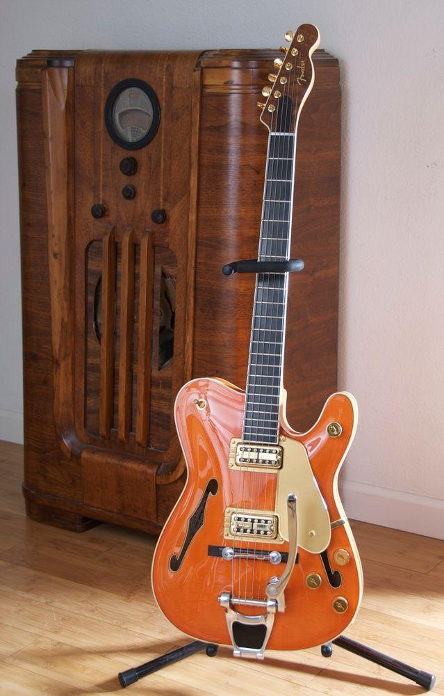 Fender Gretschocaster 2005 (Fender owns Gretsch)