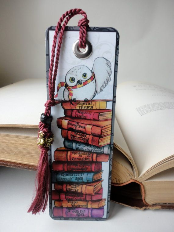 Red Tassel Harry Potter Bookmark – #Bookmark #etsy…