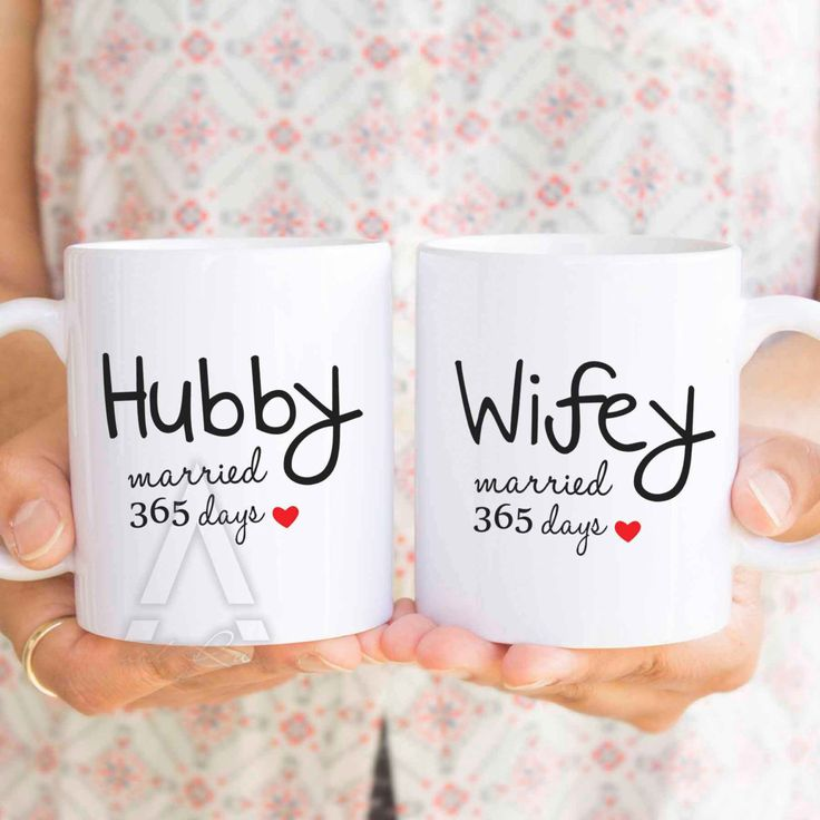 Paper Anniversary Gift For Him 1st Husband Mugs 365 Days Man His And Hers Mu260