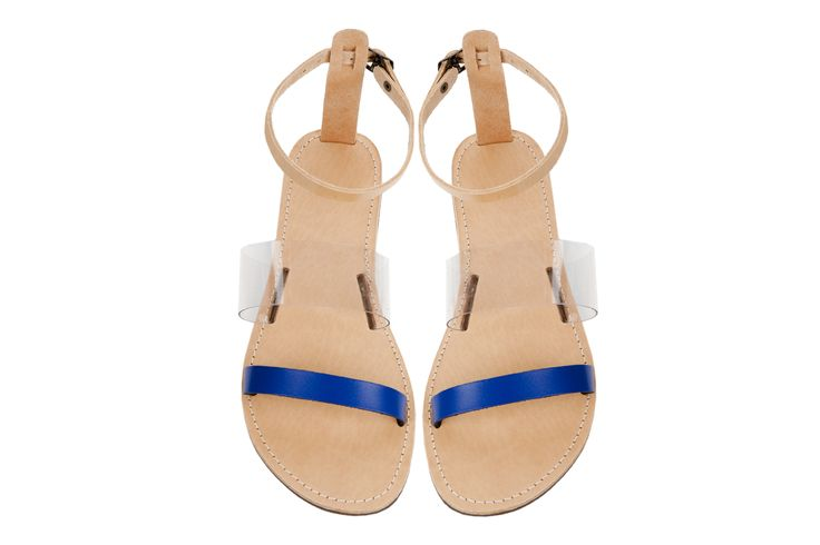 Isapera sandals : Yialos in Blue