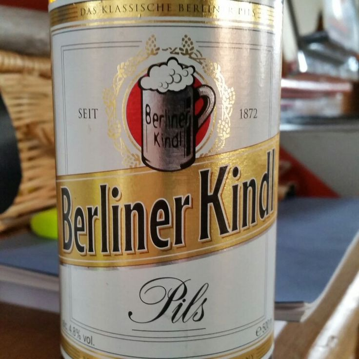 Malty bitterness. #tryanuary - Drinking a Berliner Kindl Pils by Berliner-Kindl-Schultheiss-Brauerei