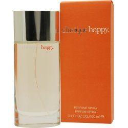 Happy Perfume For Women by Clinique  Denna är en av de få parfymer jag tål. :-)