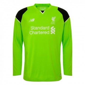 Liverpool 16-17 Målvakt Hemmatröja Långärmad  #Fotbollströjor