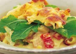 Chicken and Bacon Bake recipe from Food in a Minute