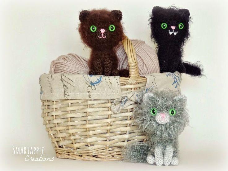 84 best GATOS-CATS AMIGURUMIS images on Pinterest | Cat crochet ...
