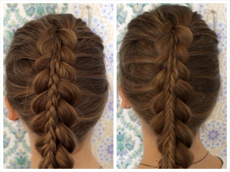normal and fishtail stacked braid tutorial