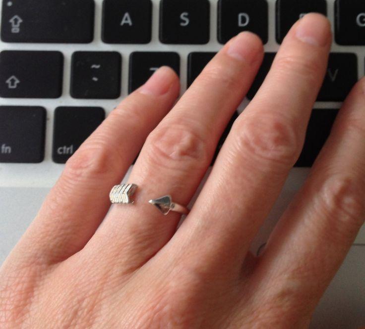 Pijl ring zilver | RINGEN | Oh So HIP