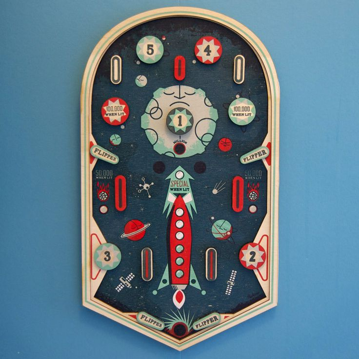 pinball machine sort of