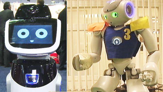 Smartare robotar väcker ömma känslor och rädsla för jobben - Nyheter | SVT.se