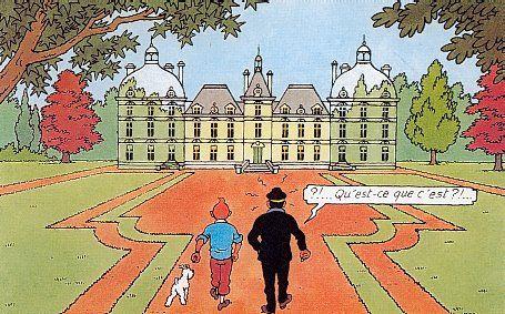 Château de Tintin : Moulinsart (château de Cheverny)