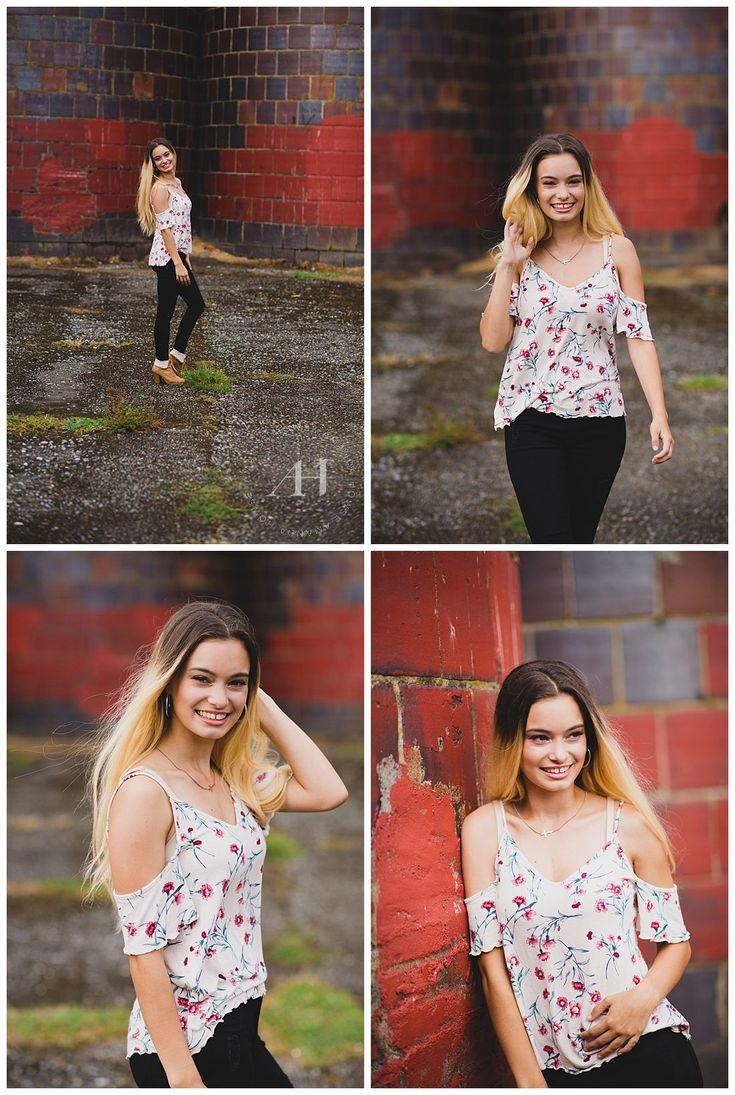 Orting Senior Portraits in the Summer | AHP - Senior