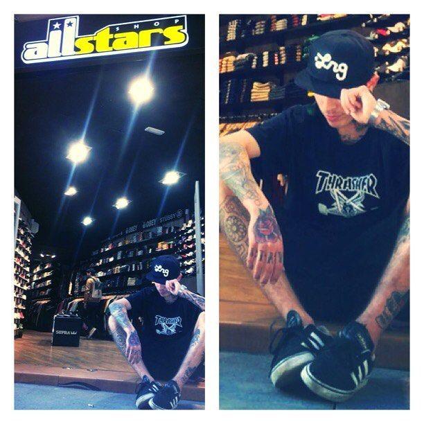 THRASHER ya disponible en allstars shop c/tallers n-6 bcn www.allstars.es http://ift.tt/1RhxhPt #thrasher #lrg #adidas #tatto #ink #casio #carhartt #cap #hat #allstarsshop #newera #gorras #camiseta #tshirt #socks #street #urban #outfit #barcelona #bcn #allstarscaps # by allstarsshopbcn