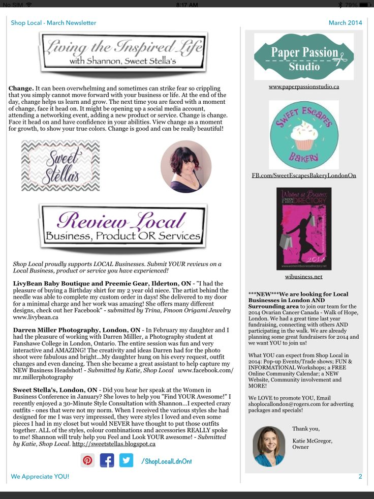 Shop Local March 2014 - pg. 2
