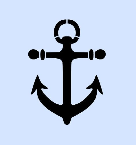 Anchor stencil nautical stencils template templates by sunflower33, $8.99
