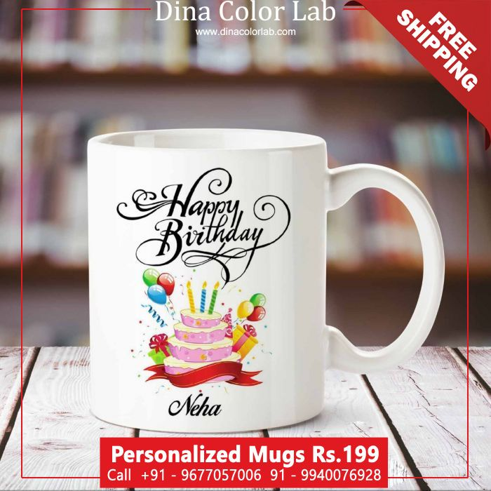 Photo Mugs Personalized Online