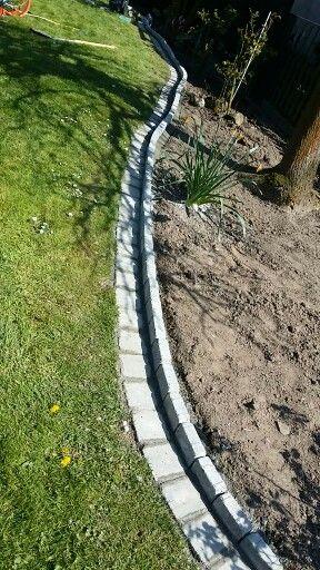Great M hkante Steine auf Baumarkt Beton