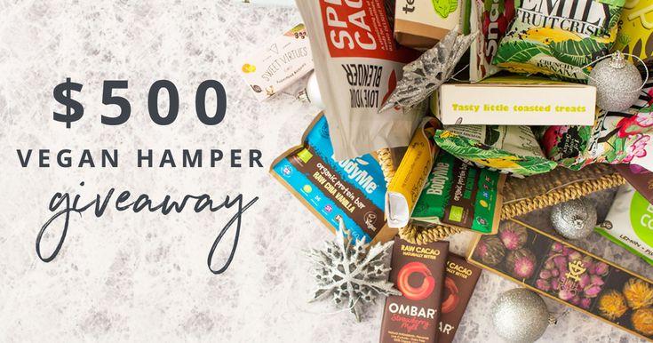 $500 Vegan Christmas Hamper Giveaway