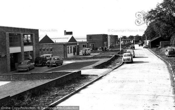 Burgess Hill, Industrial Estate, Victoria Road c.1960, from Francis Frith