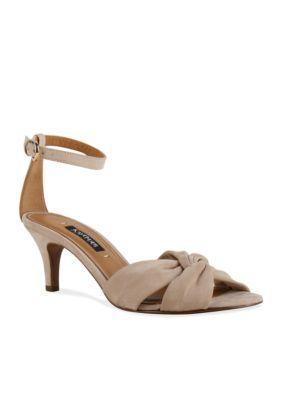 Kay Unger New York Women's Zantis Sandal - Tan/Khaki - 6.5M