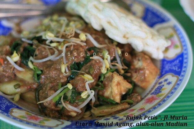 """indonesian food style """"rujak petis"""""""