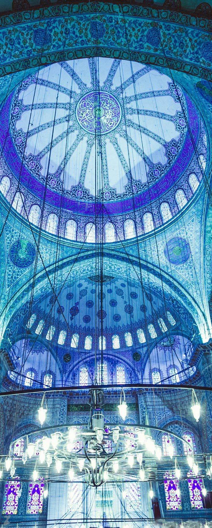 Sultan Ahmed Mosque -Blue Mosque- Istanbul | Turke…