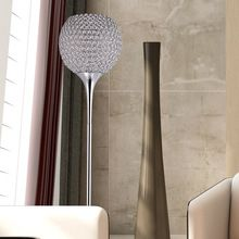 US $269.90 Modern Crystal Floor Lamp suppore LED E27 Sconce crystal lamps foyer lamps shade Home Decor Luminaire FRFL/0005 study room light. Aliexpress product