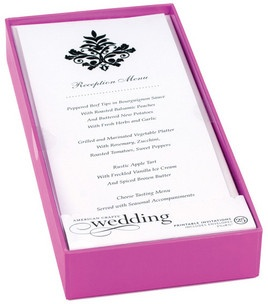 Black Damask Bridal Shower invitations