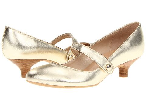 Gabriella Rocha Ginger--I think this might be them. Perfect combination of gold and comfort!